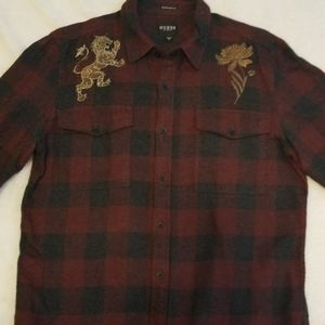 Mens Guess flannel shirt, size small